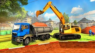 Real Construction 2018 - City Excavator Crane Builder - Best Android Gameplay