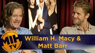 The Layover | MadeInHollywoodTV Interview w/ William H. Macy & Matt Barr (Août 2017)