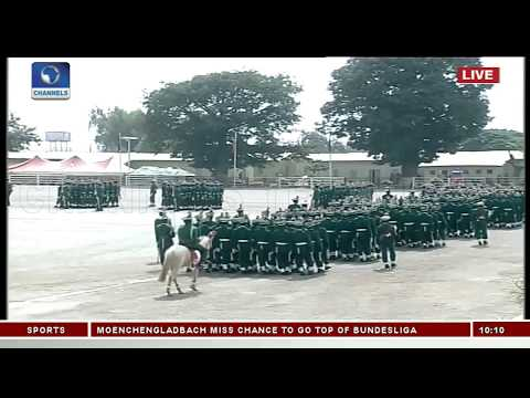 Show Of Gallantry As Nigerian Army Passes Out Graduands Pt.4 |Live Event|