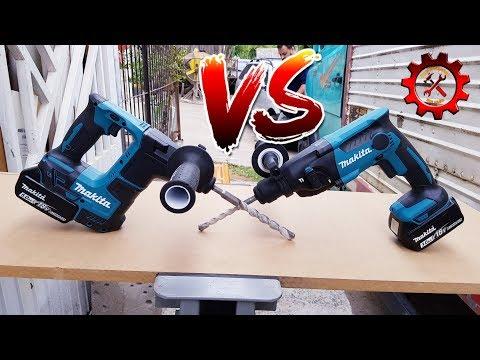 Martelete makita 18v DHR171 Brushless VS Martelete makita 18v DHR 165 brushed