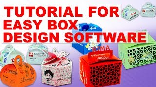 Tutorial For Easy Box Making Design Software With Templates