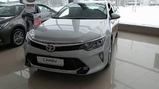 Toyota Camry  2018  качество сборки японского седана D класса