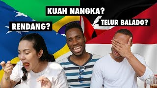 FOREIGNERS TRY MINANGNESE FOOD | GADO