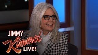 Jimmy Kimmel Reveals He Would Marry Diane Keaton
