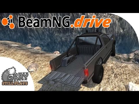 Mountaineer - Insane 4x4 Off Road Trails Challenge Custom Mod Map - BeamNG.Drive Gameplay Highlights