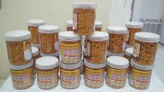 Kremes Ayam Malioboro Rasa Original Sari Keremes Ayam Kampung Solo Cemilan Camilan Snack