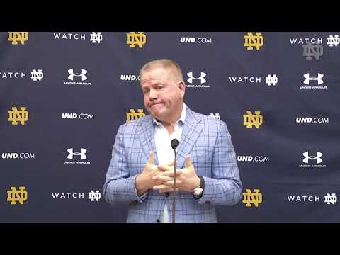 @NDFootball | Brian Kelly Press Conference (03.1.19)
