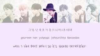 BTS (방탄소년단) - 쩔어 (DOPE/ Sick) [Color coded Han/Eng/Rom lyrics]
