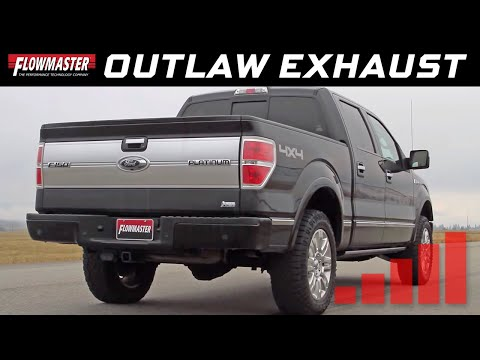 2009-14 Ford F-150 5.4L - Outlaw Extreme Cat-back Exhaust System 817707
