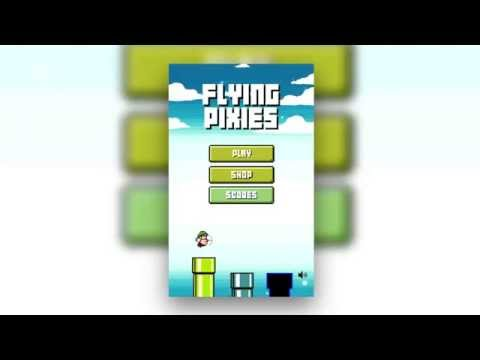 Video of Flying Pixies