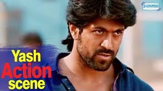 Masterpiece hero Yash Dialogue With Fight Promo | Mr and Mrs Ramachari Kannada Full Movie 2015 HD
