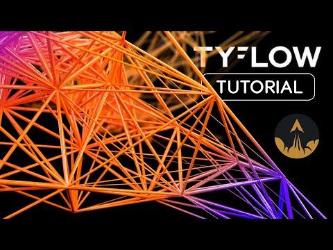 using tyflow in 3ds max tutorial by jesse pitela