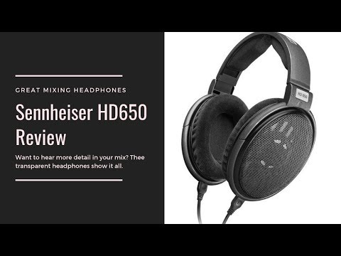 Sennheiser HD650 Headphone Review (Audiophile's Choice)