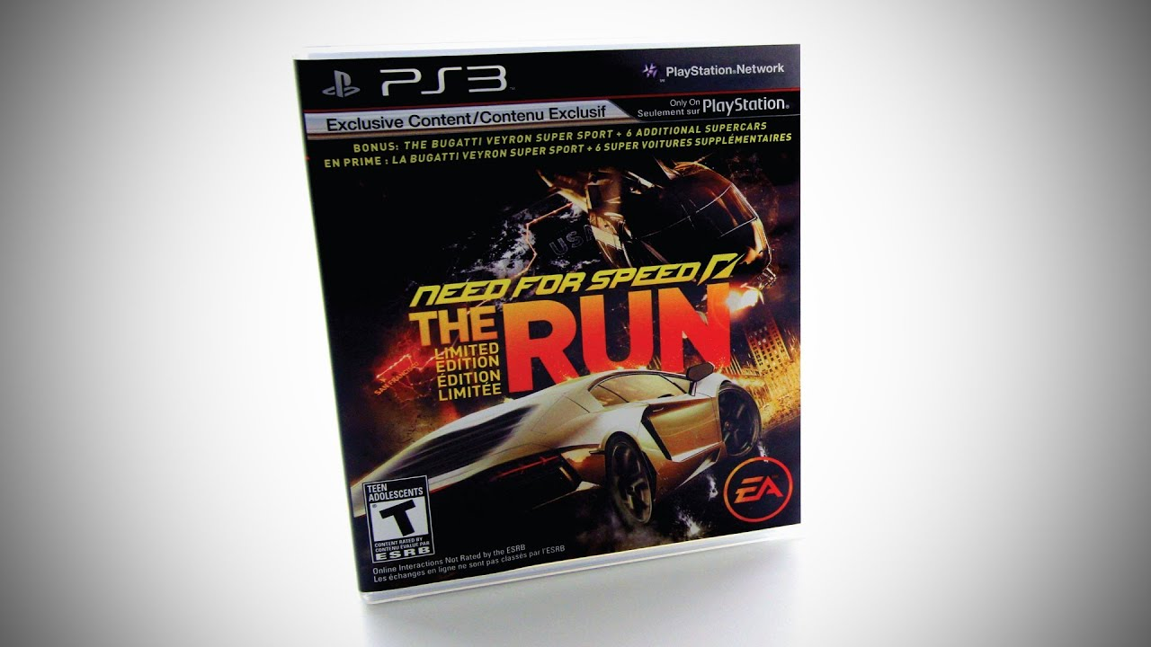 Need For Speed The Run Limited Edition Unboxing thumbnail
