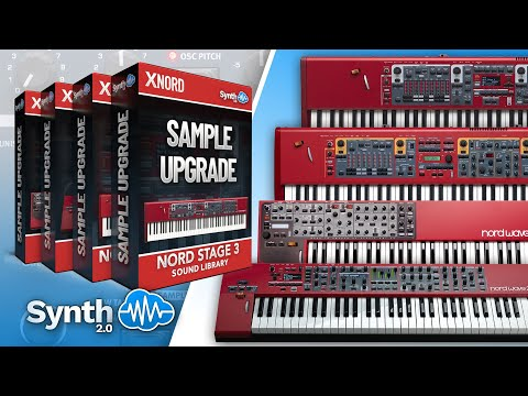 SAMPLE UPGRADE SOUND BANK | NORD WAVE - STAGE 2 3 | Library