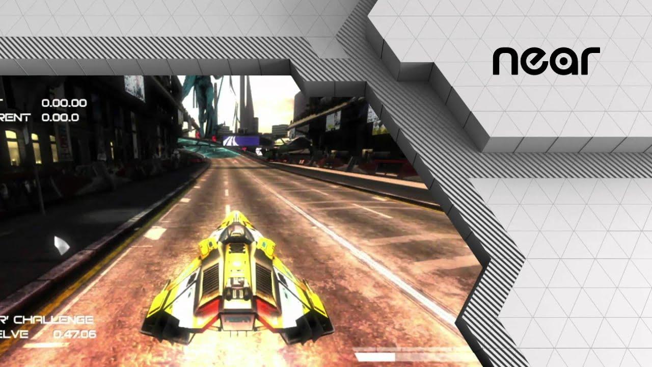 WipEout no PlayStation Vita: Bem-Vindo a 2048