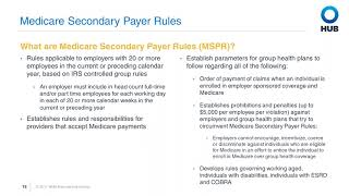 Medicare Secondary Payer Rules: Part 2 of 4
