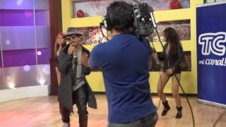 DENNYS THE BLACK - Entrevista TC TELEVISION NOTICIERO