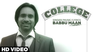 College  Babbu Maan