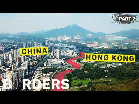 Čína se snaží vymazat hranici s Hongkongem