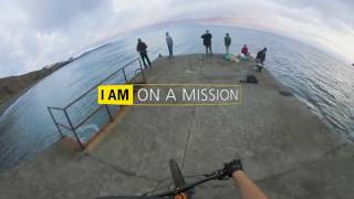Mountain Biking in Madeira Shot in 360° With the Nikon KeyMission 360 Action Camera