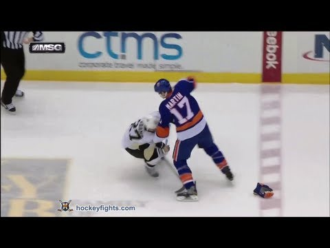 Matt Martin vs. Craig Adams
