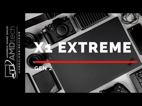 External Review Video MR-VSrul6lk for Lenovo ThinkPad X1 Extreme G2 Laptop