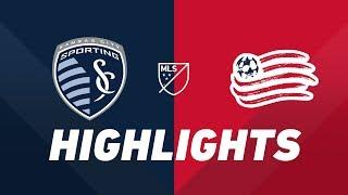 Sporting Kansas City vs. New England Revolution | HIGHLIGHTS - April 27, 2019