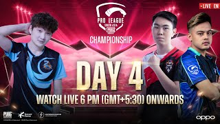 [EN] PMPL South Asia Spring Championship Day 4 | OPPO | Battle for the Champion's Title!
