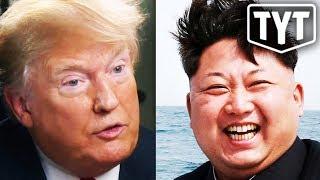 """Trump Explains Kim Jong Un """"Love"""""""