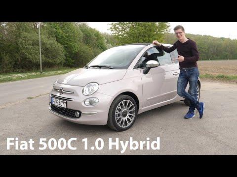 Das letzte und BESTE Update: Fiat 500C 1.0 Hybrid GSE (70 PS) Test [4K] - Autophorie