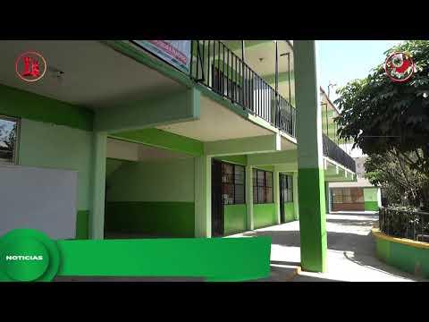 Mejoramos infraestructura en escuelas de Chimalhuacán
