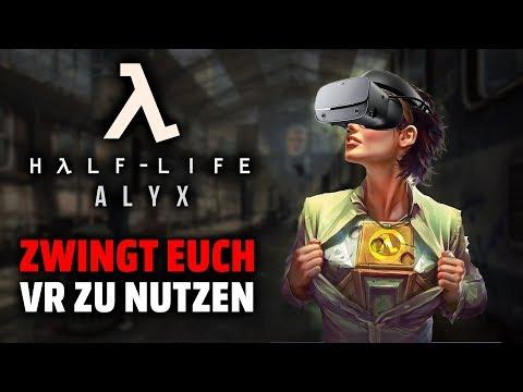 Die wahren Gründe, weshalb Half Life: Alyx nur in VR spielbar ist