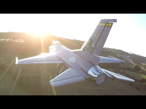 fpv-close-formation-flight-from-takeoff-to-landing-drone-with-rc-f16