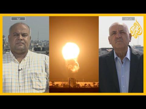 التصعيد بغزة