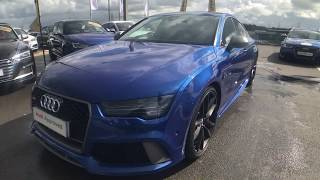 Audi RS7 Sportback performance 4.0 TFSI quattro 605 PS  For Sale at Swansway Blackburn Audi