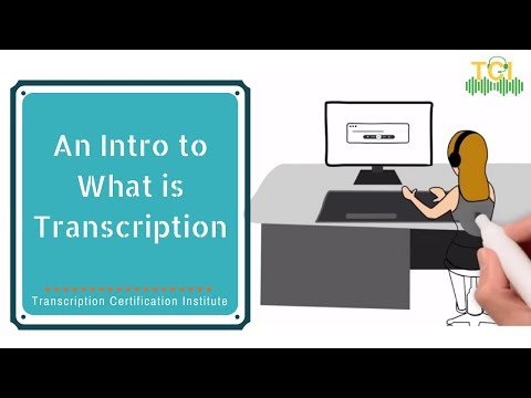 An Introduction to What is Transcription | Lesson 1 (Part 1) Overview ...