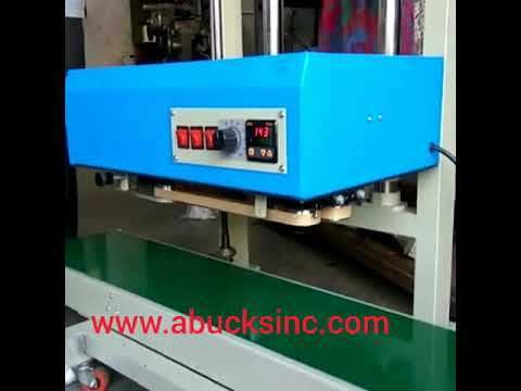 Heavy Duty Continuous Band Sealer Vertical Model With Height Adjustment Stand