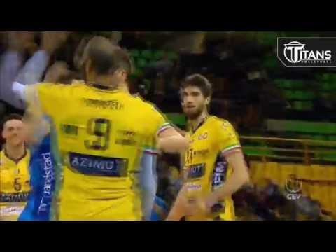 TOP 20 Best Volleyball Spikes By Earvin Ngapeth Champions League 2017 CEV 2017
