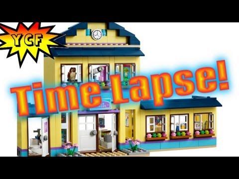 Vidéo LEGO Friends 41005 : L'école de Heartlake City