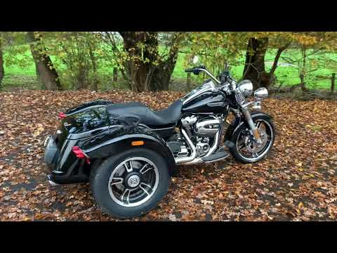 NEW 2020 Harley-Davidson FLRT Freewheeler Trike in Vivid Black
