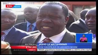 KTN Leo: Waziri wa Elimu Fred Matiang'i aridhisha na jinsi mtihani wa KCSE ilivyo fanywa, 30/11/16
