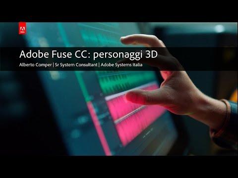 Adobe Fuse CC: creazione personaggi in 3D