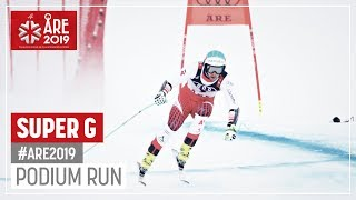 Vincent Kriechmayr | Silver Medal | Men's SuperG | Are | FIS World Alpine Ski Championships