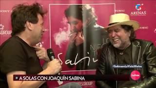 A solas con Joaquín Sabina