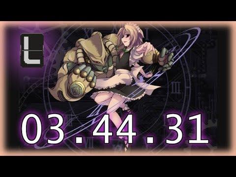 【Touhou Luna Nights】 DIO-Sakuya Boss Rush Speedrun 03:44:31