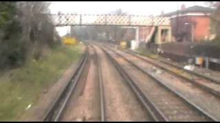 preview picture of video 'Hastings DEMU 1001 Cabview Barnes - Acton Wells 26.03.11 Norfolk Navigator'