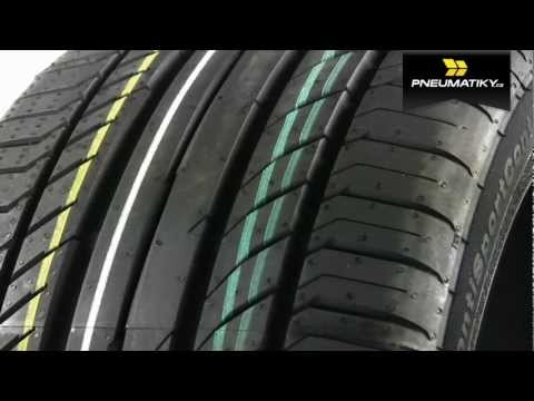Youtube Continental SportContact 5 225/50 R17 94 Y AO Letní