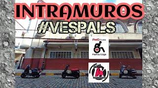Intramuros Friday Ride - VESPALS - Motovlog #17