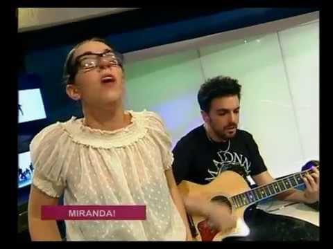 Miranda! video Lloviendo estrellas - CM Estudio - Diciembre 2015